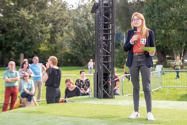 Marlene Schönberger - Bundestagsdirektkandidatin für den Wahlkreis 230 Rottal-Inn - Foto: Schoyerer