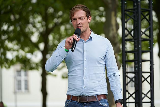 Bundestagsdirektkandidat für den Wahlkreis Deggendorf-Freyung-Grafenau, WK 227 Matthias Schwinger. - Foto: Tobias Köhler