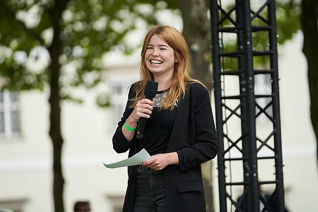 Bundestagsdirektkandidatin für den Wahlkreis Rottal-Inn, WK 230 Marlene Schönberger. - Foto: Tobias Köhler