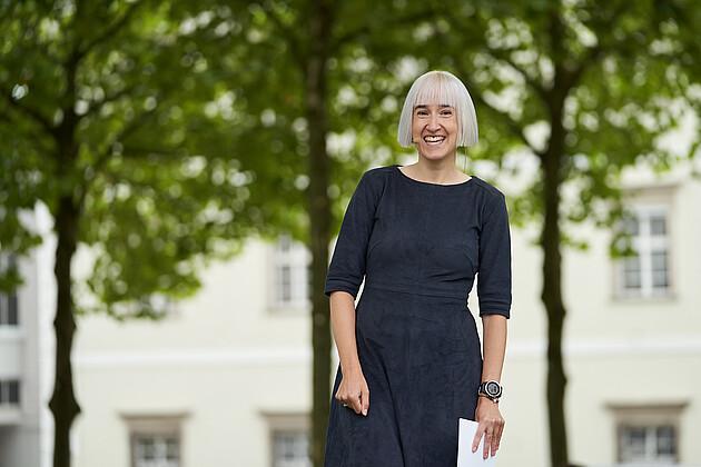 Bundestagsdirektkandidatin für Passau Stadt/Land Stefanie Auer. - Foto: Tobias Köhler